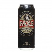 Faxe Black Premium Beer Can 0,5L