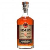Bacardi Rum 8 Years Old 0,7L