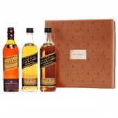 Johnnie Walker Black 2 x 0.2 L + 1 Johnnie Walker Gold 0.2 L
